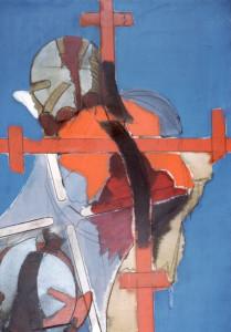 Gioia di combattere, 1968, olio su tela, 140x100 cm