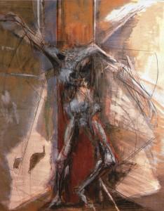 Deposto, 2002, olio su tela, 90x73 cm