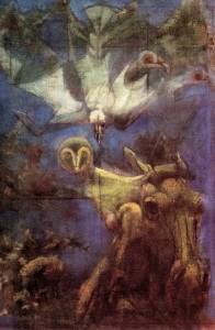 L'Arco della Pace, 1974, olio su tela, 50x35 cm