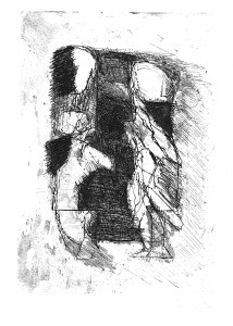 Salomè (dalla Comadre), 1970-84, acquaforte, 24x17 cm
